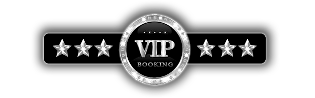 platinum vip logo with 3 platinum stars on either side